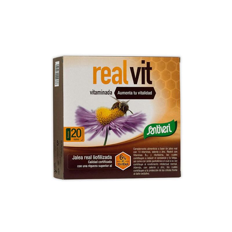 REALVIT VITAMINADA 20 VIALES